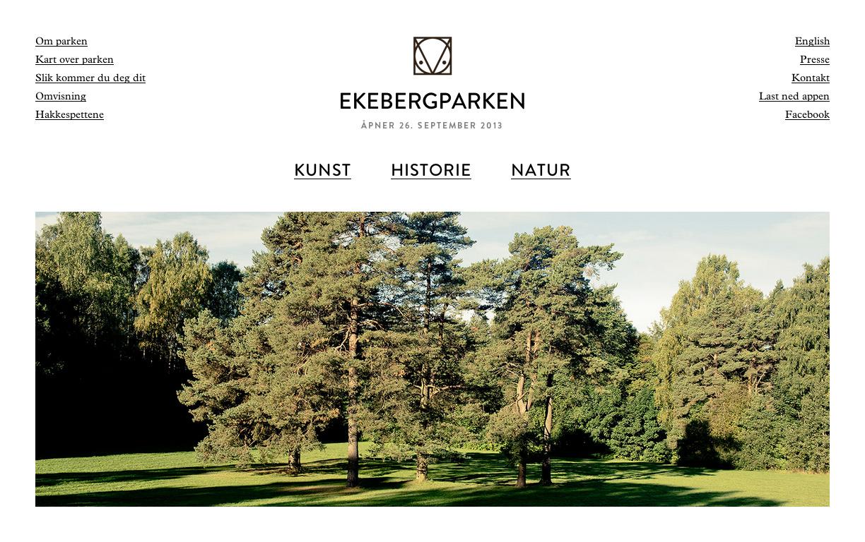 Ekebergparken by VERDE