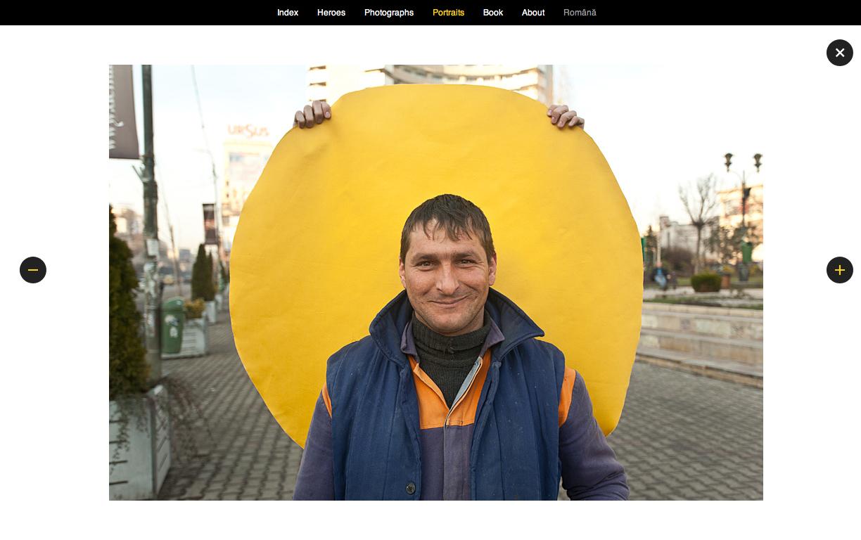 Romanian Yellow Dot by VERDE
