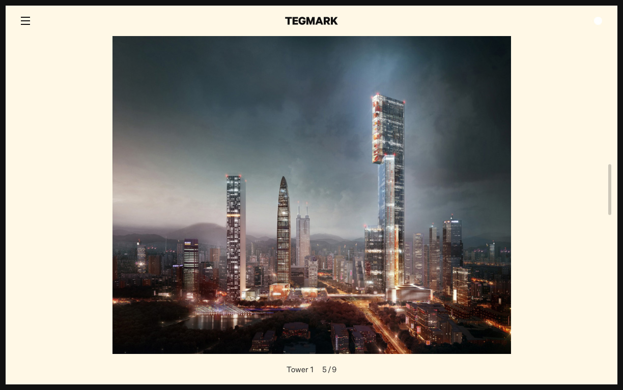 Tegmark by VERDE