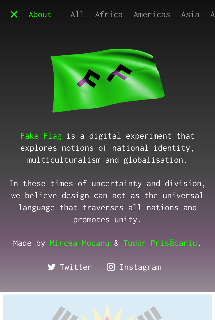Fake Flag by VERDE