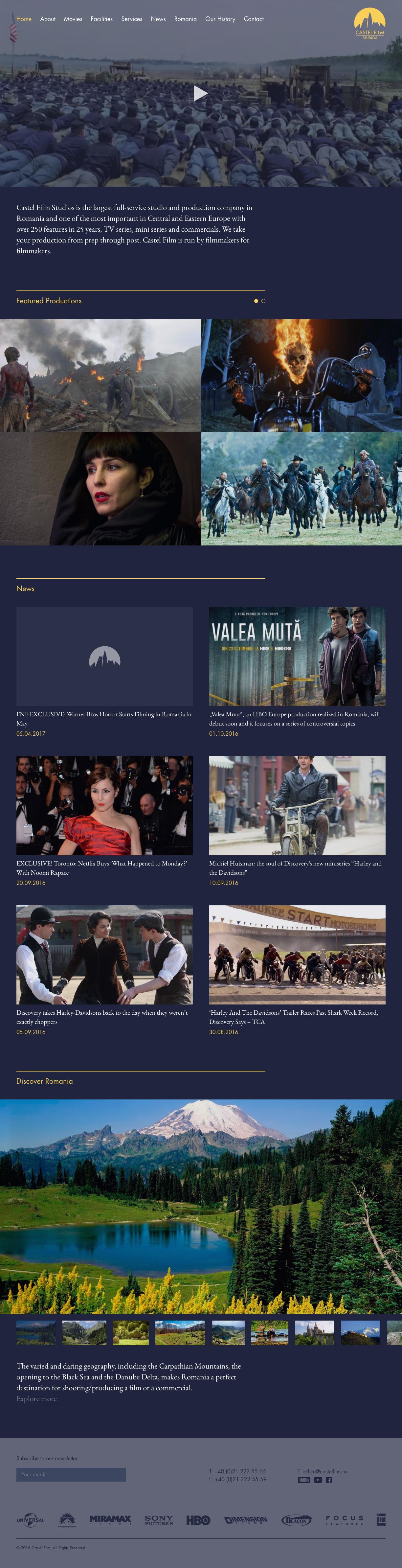 Castel Film Studios by VERDE